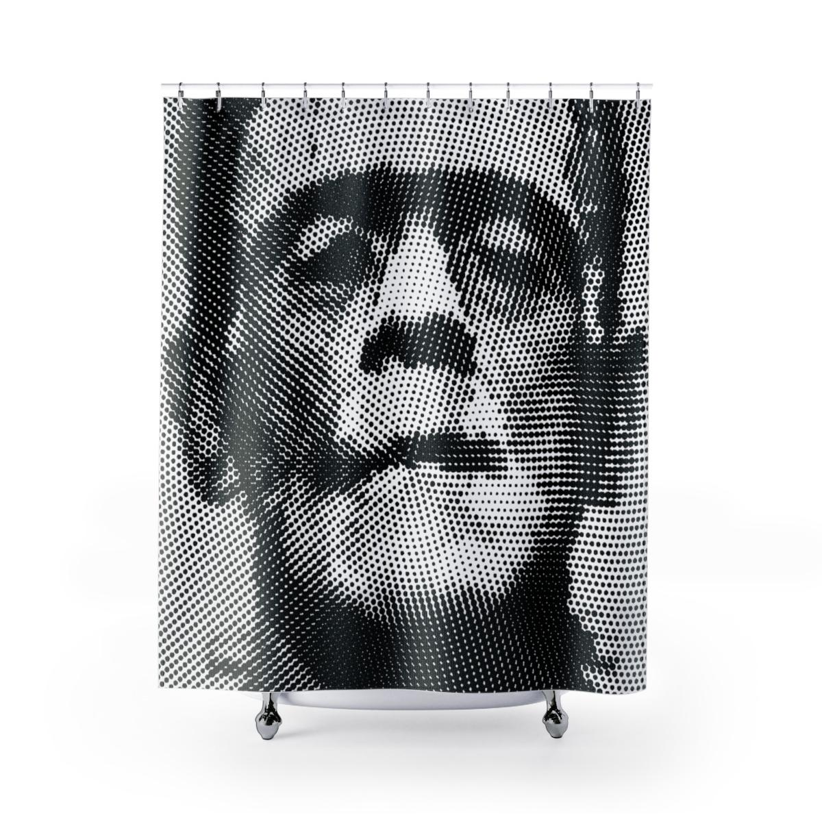 Pop Art Frankenstein Shower Curtain